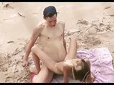 Am FKK Strand wird gebumst