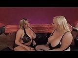 Lesbensex mit blonden BBWs