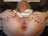 Reife Arschfotze einer deutschen Blondine