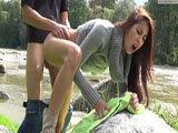Christy Charming wird beim Pissen überrascht