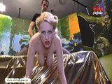 Angel Wicky spielt gerne mit Sperma