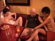 Swinger ficken auf einer Sex-Party