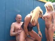 Geiler Dreierporno mit Anita und Nadja Summer