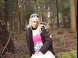 Natursekt und eine verdorbene Blondine